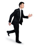 Business man running away Stock Photos