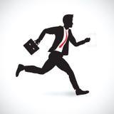 Business man running Stock Image