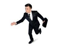 Business man running Stock Photos