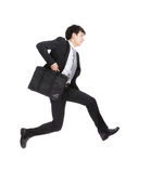 Business man running Stock Image