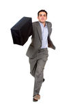 Business man running for succe Stock Photography