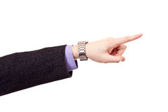Business man's hand Royalty Free Stock Photography