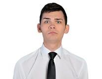 Business man sad face Stock Photos