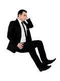 Business man sad looking down Royalty Free Stock Image