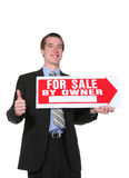 Business Man Selling Royalty Free Stock Image