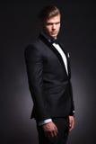 Business man semi profile Stock Photo