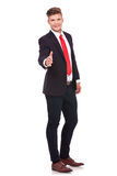 Business man shaking hand Stock Images