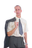 Business man shirt and tie Royalty Free Stock Images