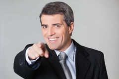 Business man showing I Want You Stock Photography