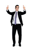 Business man showing ok sign Stock Photos