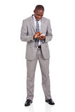 Business man smart phone Stock Photo