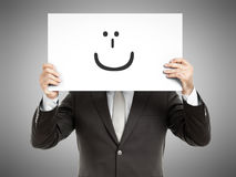 Business man smile Stock Image