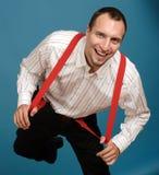 business man smiling Στοκ Εικόνες
