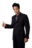 Business man Stance isolated. Business man in suit Stance for isolated Stock Images