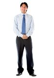 Business man standing Royalty Free Stock Image