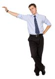 Business man standing Stock Photo
