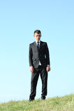Business Man Standing Stock Image