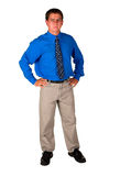 Business man standing Royalty Free Stock Photography