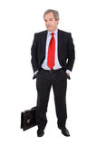 Business man standing Royalty Free Stock Photo