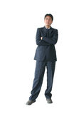 Business man standing -ar Stock Photo