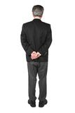 Business man standing from the back Stock Image
