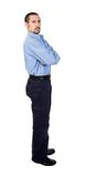 Business man standing - full body Stock Image