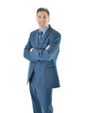 Business man standing with a smile Royalty Free Stock Photography