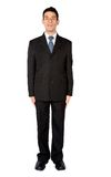 Business man standing very still Royalty Free Stock Image