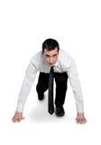 Business man start run Stock Photography