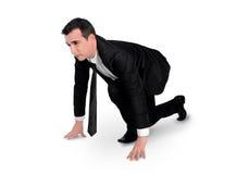 Business man start run Stock Images