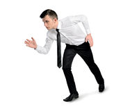 Business man  start running position Stock Photography