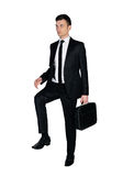 Business man step up Stock Image