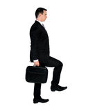 Business man step up Royalty Free Stock Photos