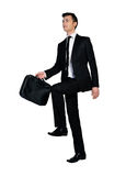 Business man step up Stock Photo