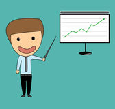 Business man stock investor Stock Photos