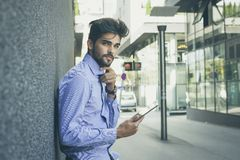 Wireless gadgets for business on the go. royalty free stock photos