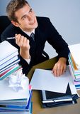 Business man or student Stock Image
