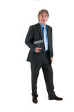 Business man in studio Royalty Free Stock Images