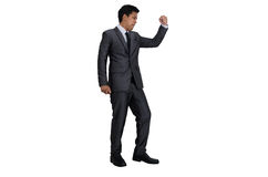 Business man in success action Royalty Free Stock Images