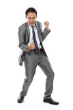 Business man success expression Stock Photography