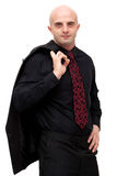Business man in suit stock photos