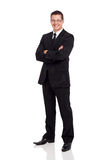 Business man suit Royalty Free Stock Image