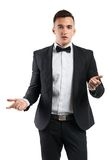 Business man in a suit Royalty Free Stock Images