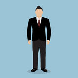 Business Man in Suit. Royalty Free Stock Image