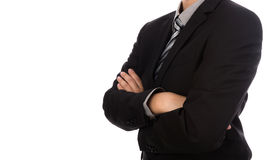 Business man in suit Stock Images