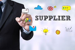 Business man , suppliers concept Stock Photo
