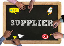 Business man , suppliers concept Royalty Free Stock Photo