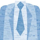 Business man symbol Royalty Free Stock Photo