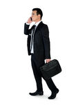 Business man talk phone Royalty Free Stock Photos