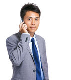 Business man talk on phone Royalty Free Stock Photo